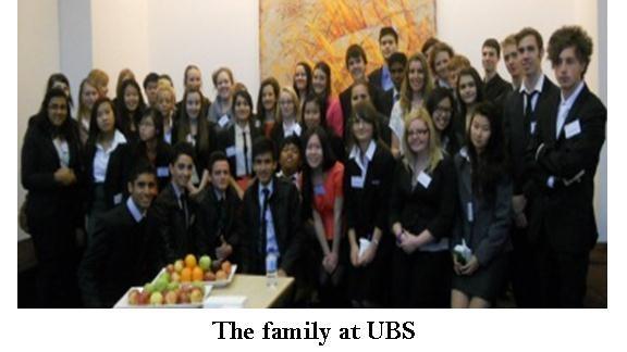 Anna attend UBS Finance Academy - Bankstown Girls High School